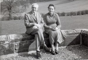 Dr Alexander and his wife, HIlde