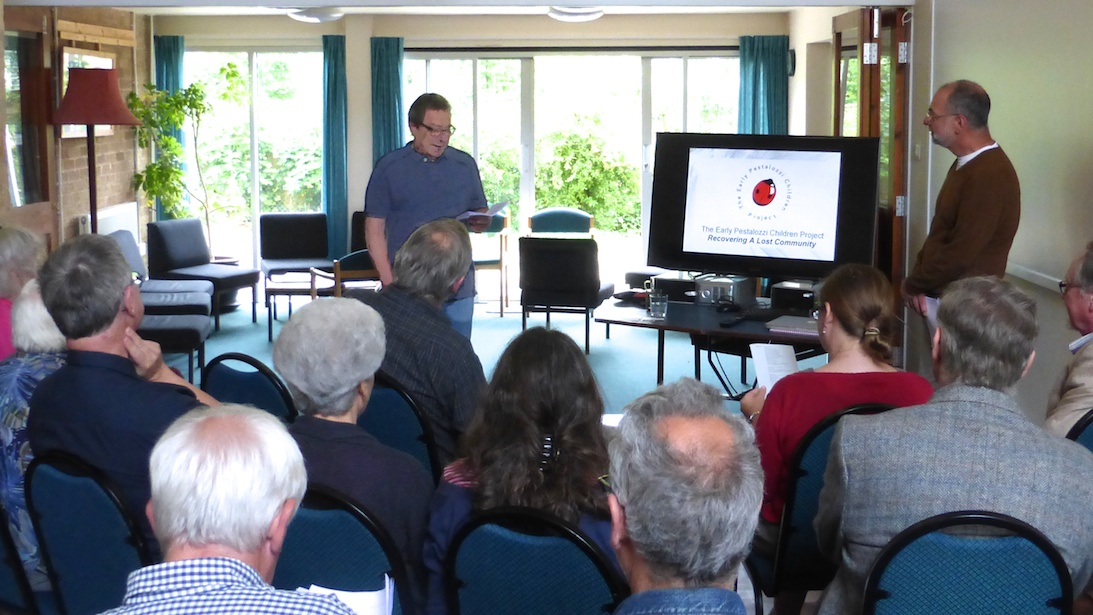 Our Project presentation at the Planned Environment Therapy Trust Archive & Study Centre, Toddington, Gloucestershire