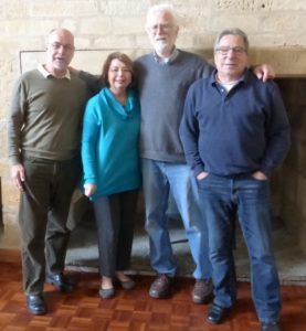 From left: Len Clarke, Dr Carolyn Mears, Dr Craig Fees & Will Eiduks at the PSTCE conference